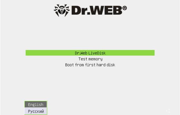 Скачать Dr.Web LiveDisk: особенности программы